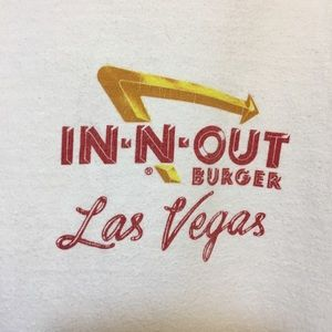 Hanes Beefy-T Shirts - Vintage In N Out Burger Las Vegas 1998 T shirt